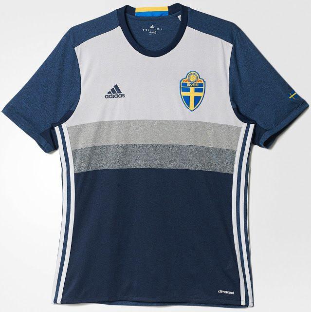 1695f89d24 Adidas apresenta nova camisa reserva da Suécia - Show de Camisas ...