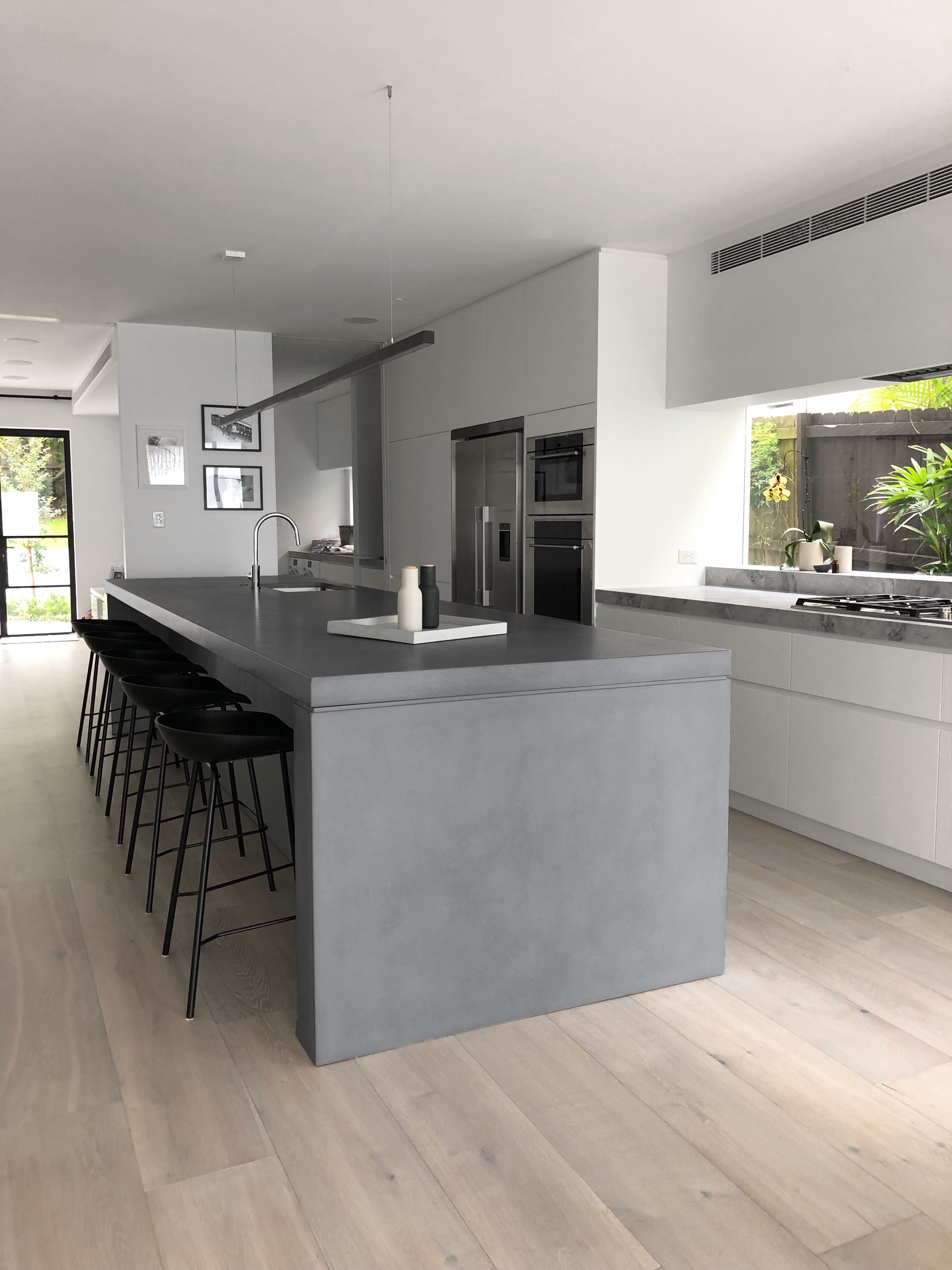 Beautifully unique, custom concrete furniture and benchtops