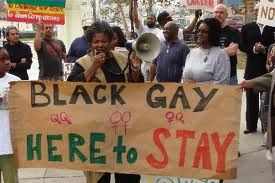 black and gay and here to stay