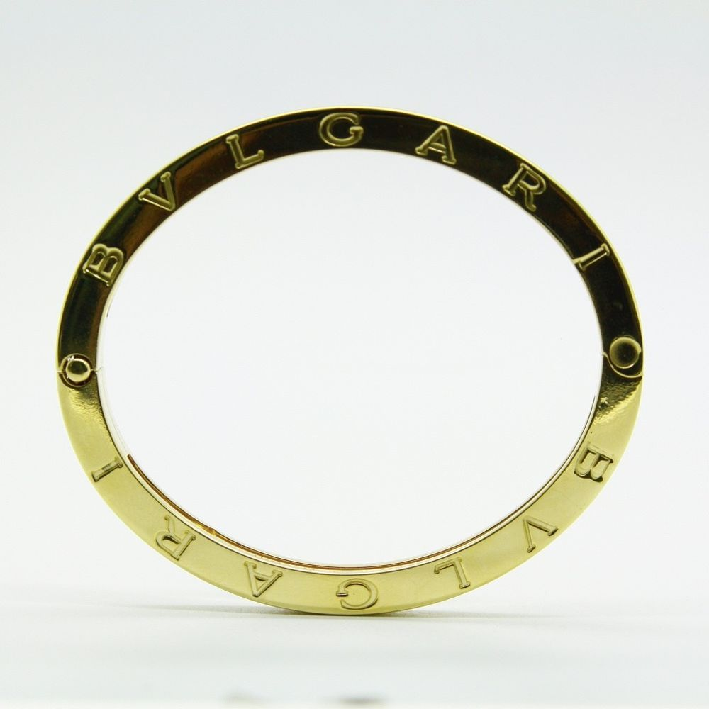 Bvlgari bzero k yellow gold bangle braceletwmmauthentic