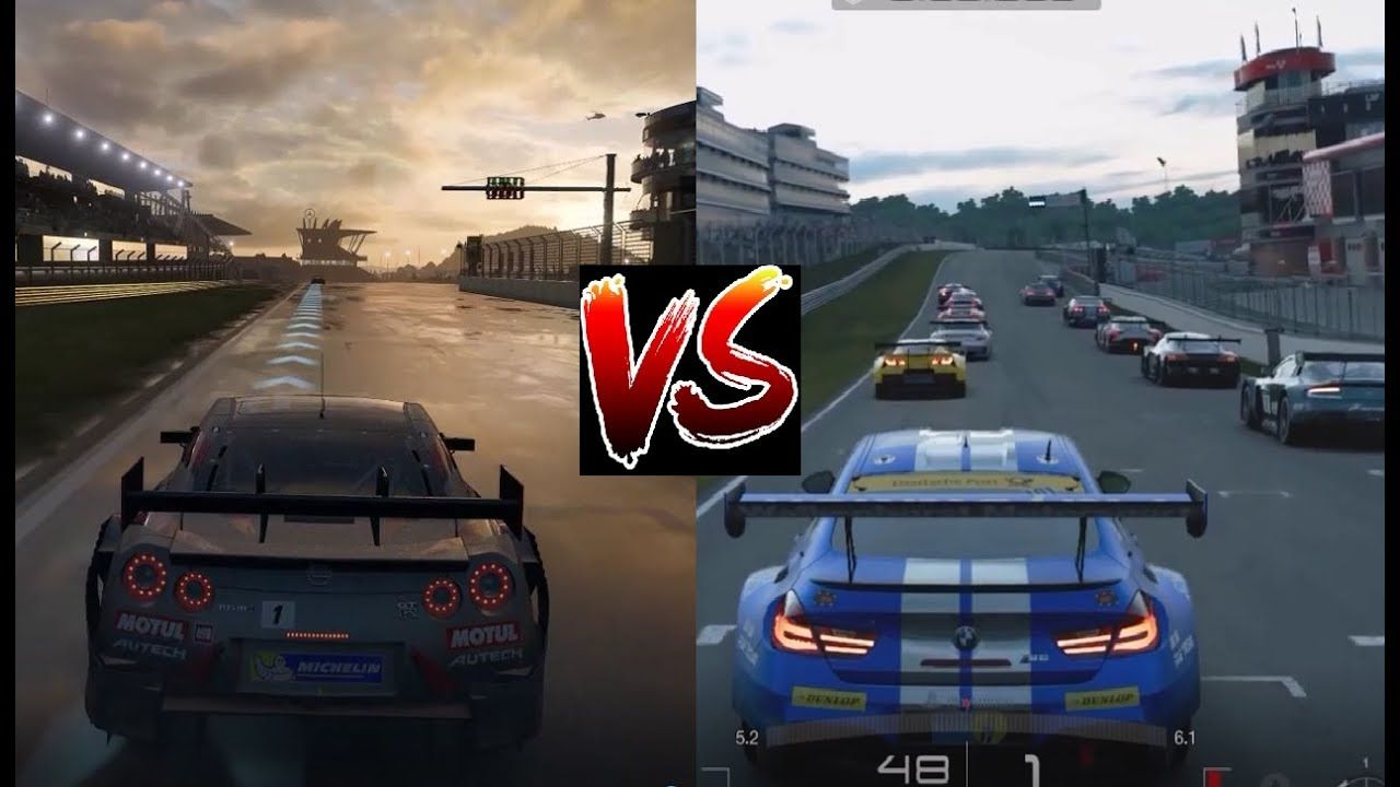 forza 7 vs gt sport xbox one x vs ps4 pro graphics xbox one x pinterest xbox. Black Bedroom Furniture Sets. Home Design Ideas