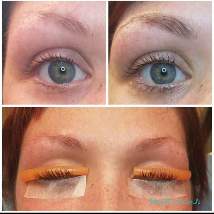 Before And After Lash Lift Lash Tint Eyebrow Wax And Eyebrow Tint