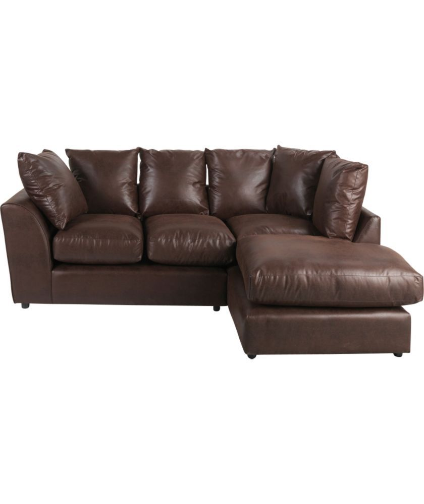 Buy Alfie Fabric Right Hand Corner Sofa Group Chocolate At Argos Co Uk Your Online Shop For Sofas Leather Corner Sofa Grey Leather Corner Sofa Sofa