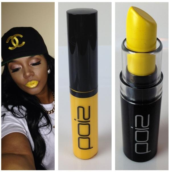 Rasheeda Releases Three New Color Lip Glosses For Poiz Cosmetics Yellow Lipstick Lipstick Foundation For Sensitive Skin