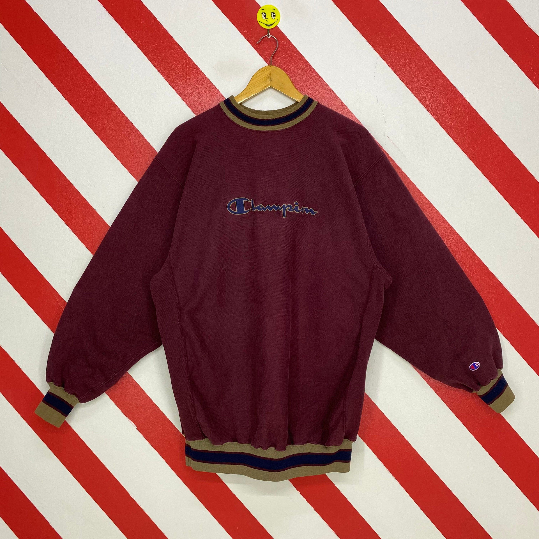 Vintage 90s Champion Sweatshirt Crewneck Champion Sweater Etsy In 2021 Champion Sweatshirt Champion Reverse Weave Embroidery Logo [ 3000 x 3000 Pixel ]