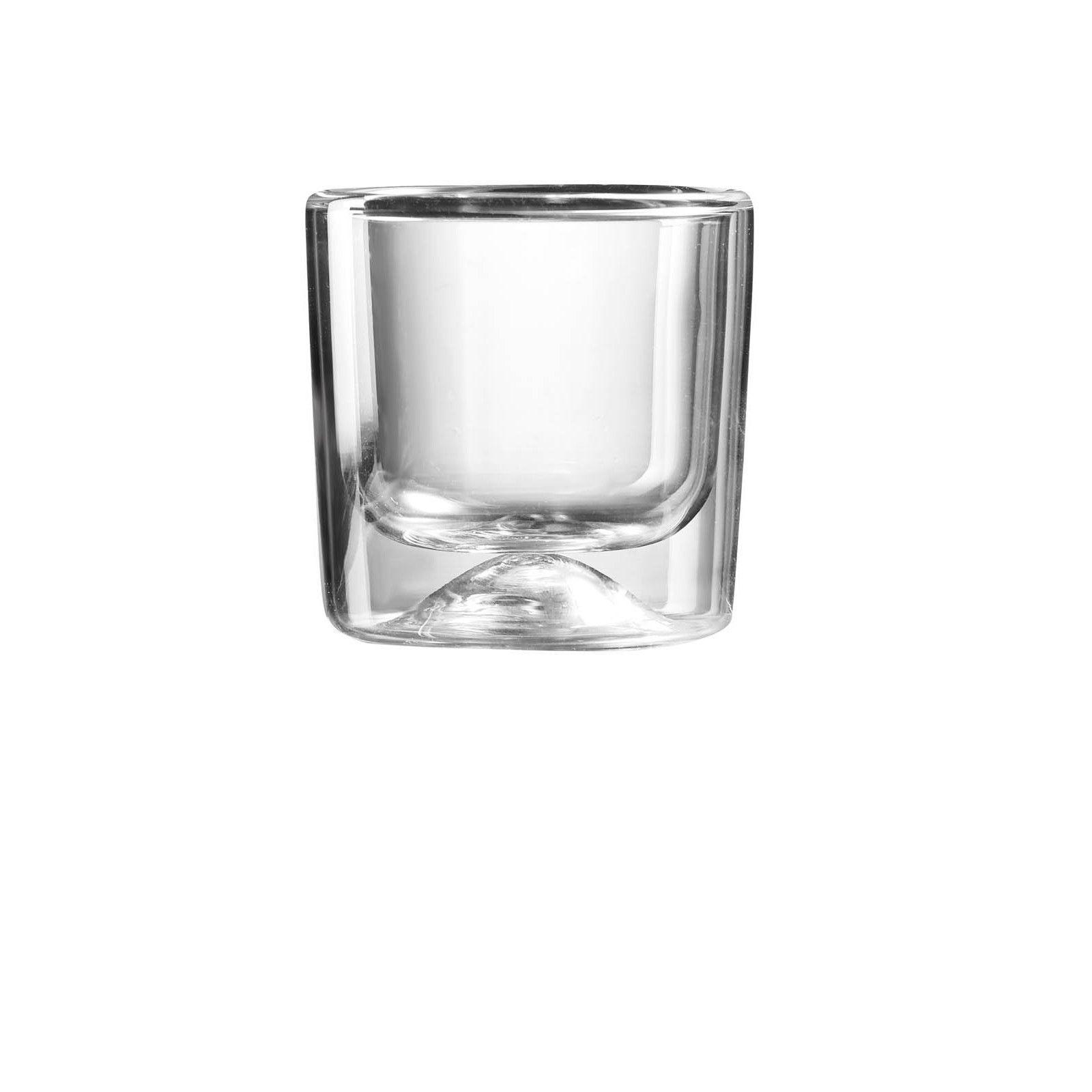 Guzzini 2 small double wall thermo-glasses