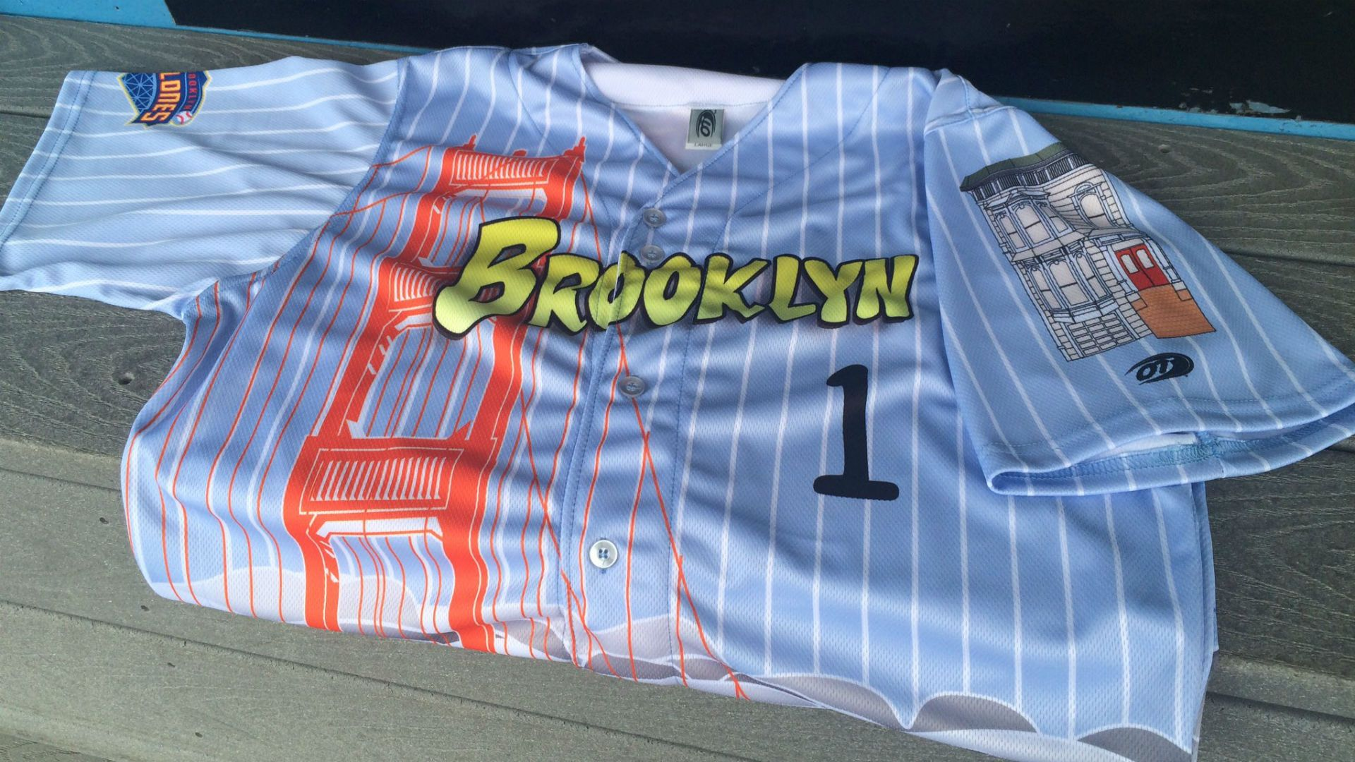 Brooklyn Cyclones Full House Jersey