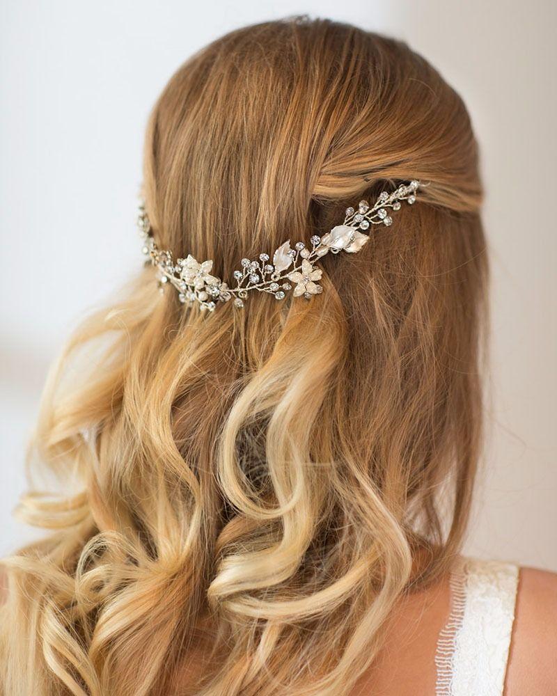 Etsy Hair Accessories Hair vine Weddings and Wedding