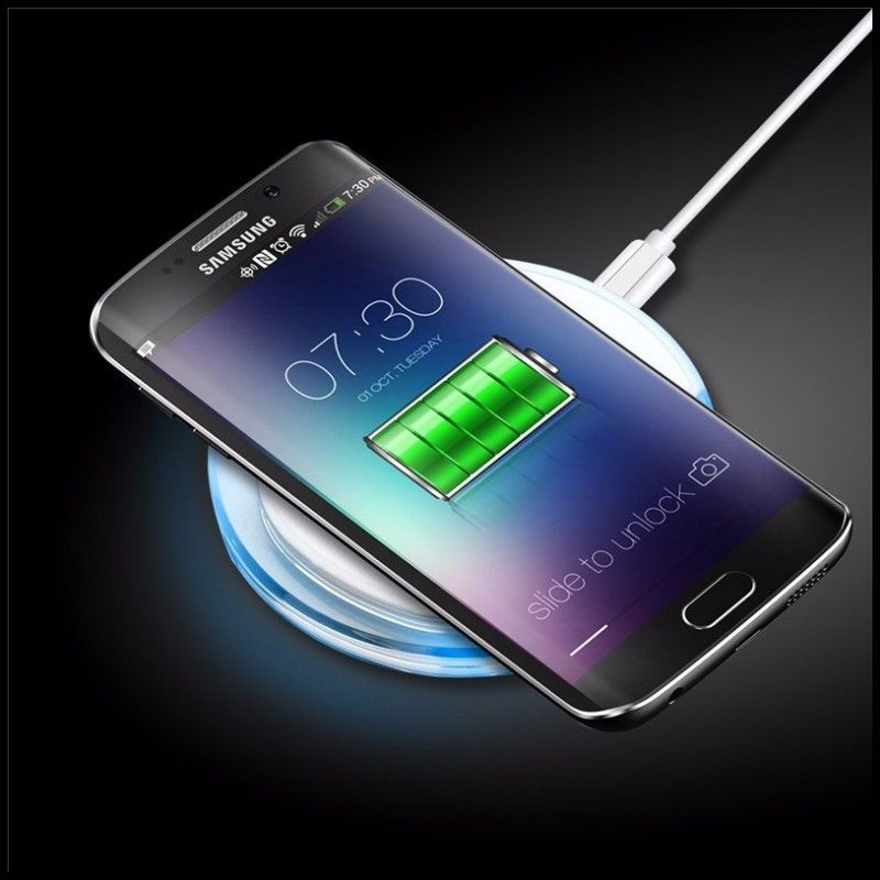 Wireless Charger For Samsung Galaxy S7 Edge S6 Edge Note7 Accessories Charging Bank Power Pad For Gal Wireless Charger Mobile Phone Accessories Iphone Wireless