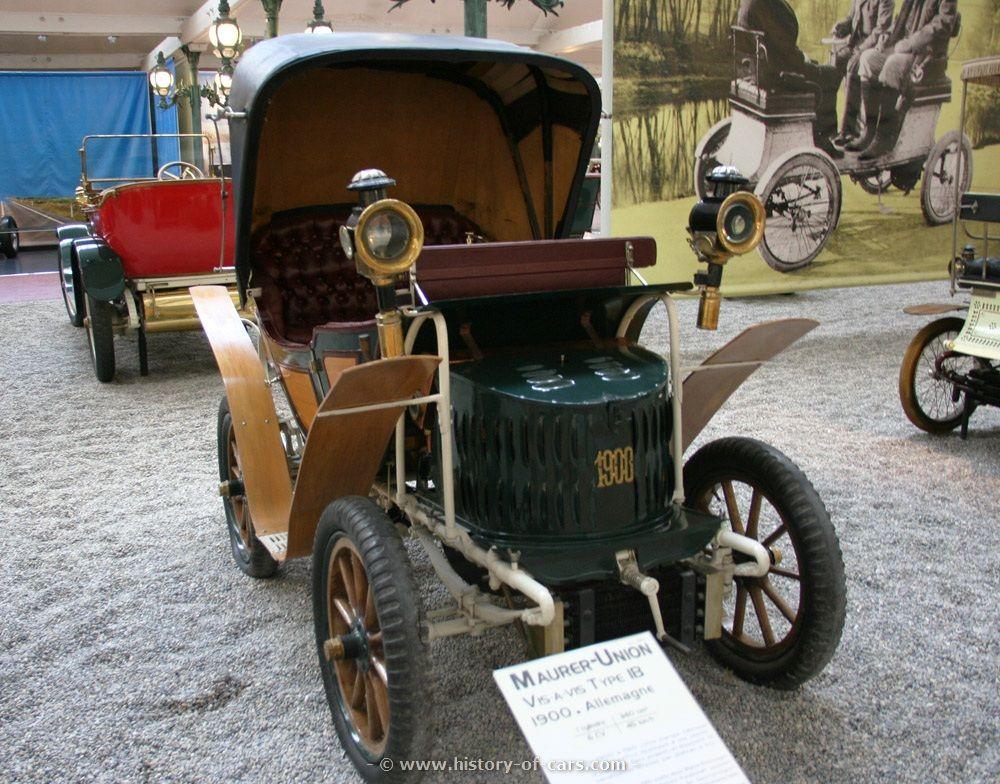 Maurer-Union Typ IB Vis-à-Vis 1900, Germany   pre-1900 and 1900 cars ...