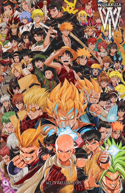 Anime Varios Ceasar Ian Muyuela Wizyakuza Com Anime Crossover All Anime Characters Anime Art