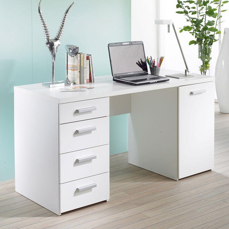 Whitman Plus Desk In 2019 Products Desk White Wood Desk Wood Desk
