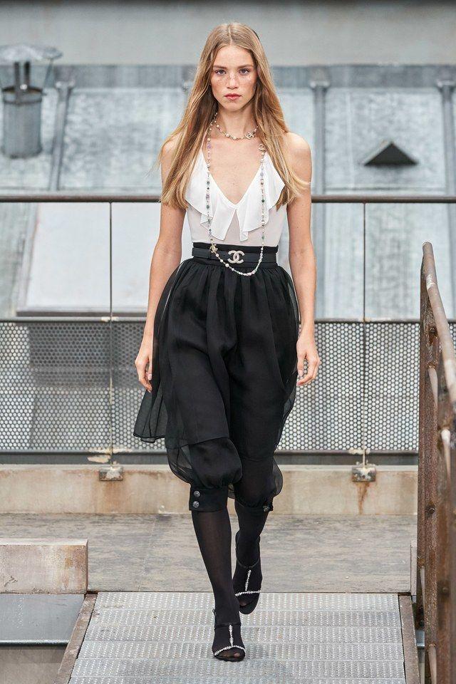 Chanel Spring 2020 ReadytoWear Fashion Show Modele, Rochii
