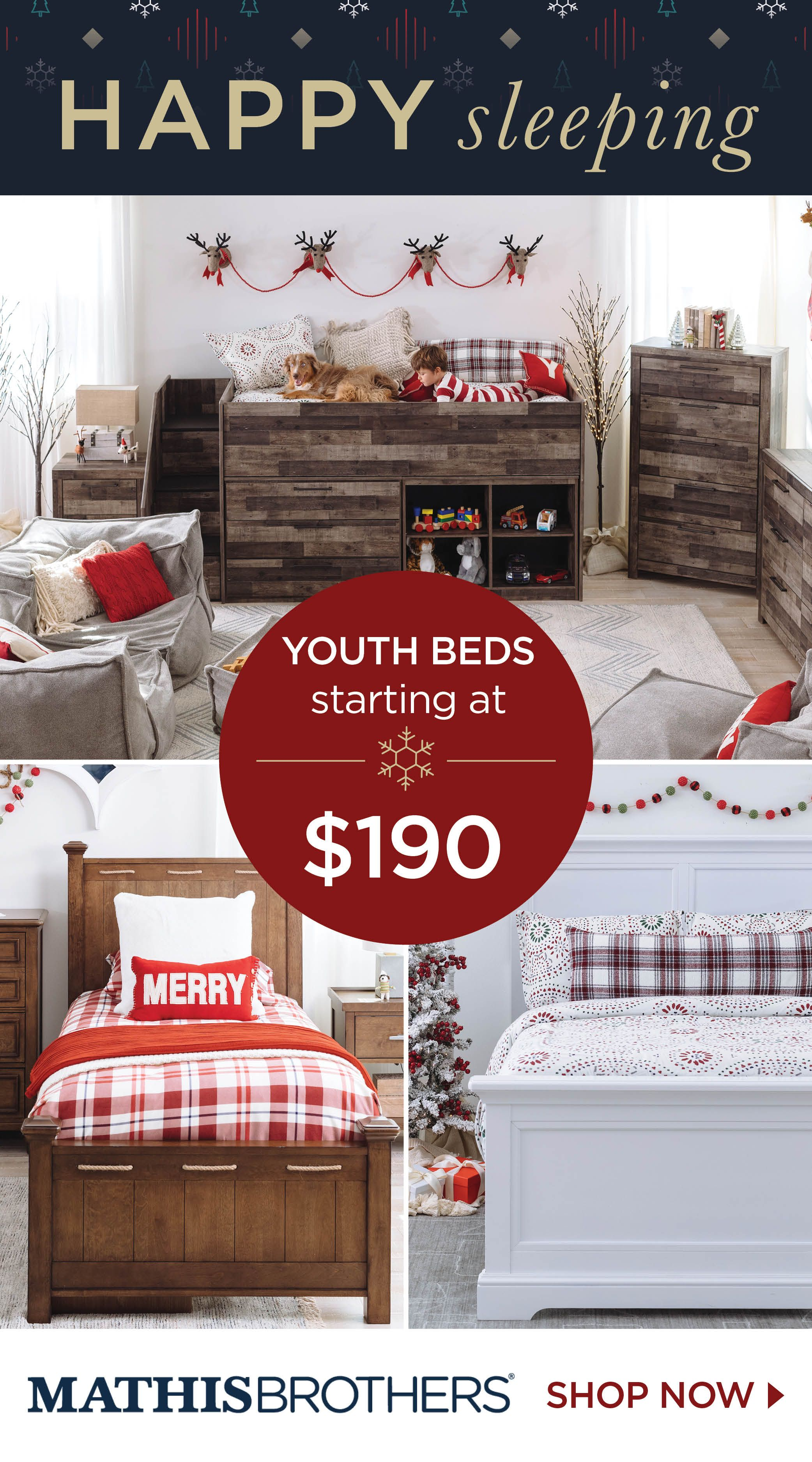 Best Shop Youth Beds For Less At Mathis Brothers Kid Beds 640 x 480
