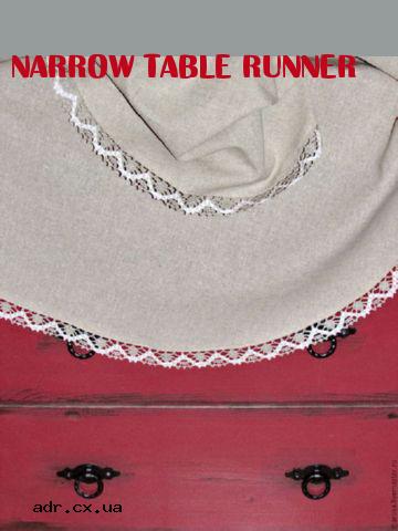 Narrow Table Runner