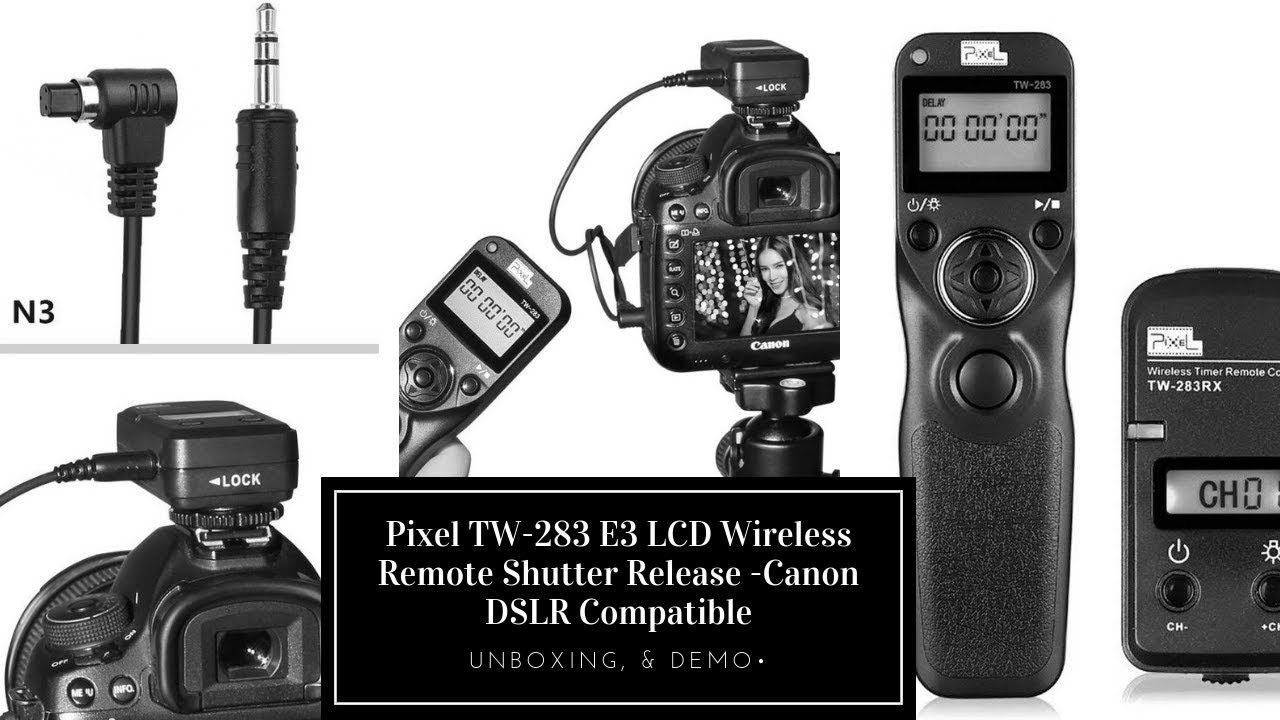 Wireless Remote Shutter Release For Canon Dslr Cameras Cameras Cameraaccessories Dslr Canon Nikon Remoteshutt Canon Dslr Camera Dslr Camera Canon Dslr