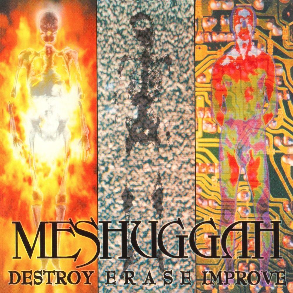 Meshuggah Destroy Erase Improve 1995 Djent Metal Albums Metal