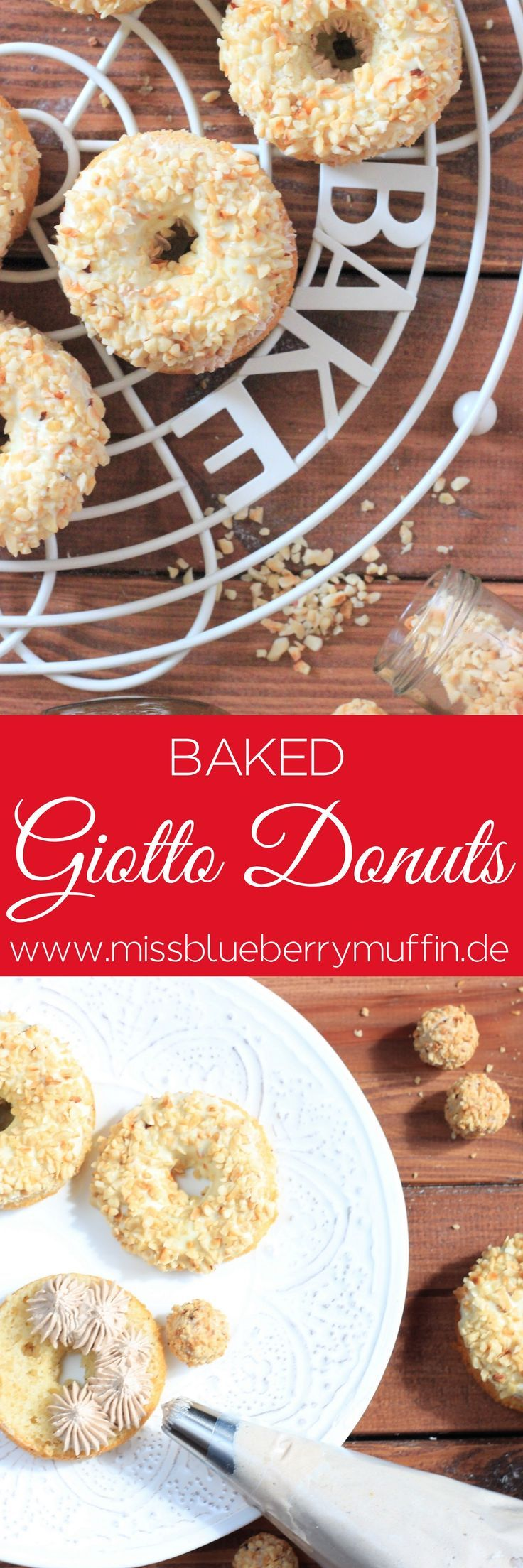 rezept f r giotto donuts aus dem backofen baked giotto donuts recipe ich liebe. Black Bedroom Furniture Sets. Home Design Ideas