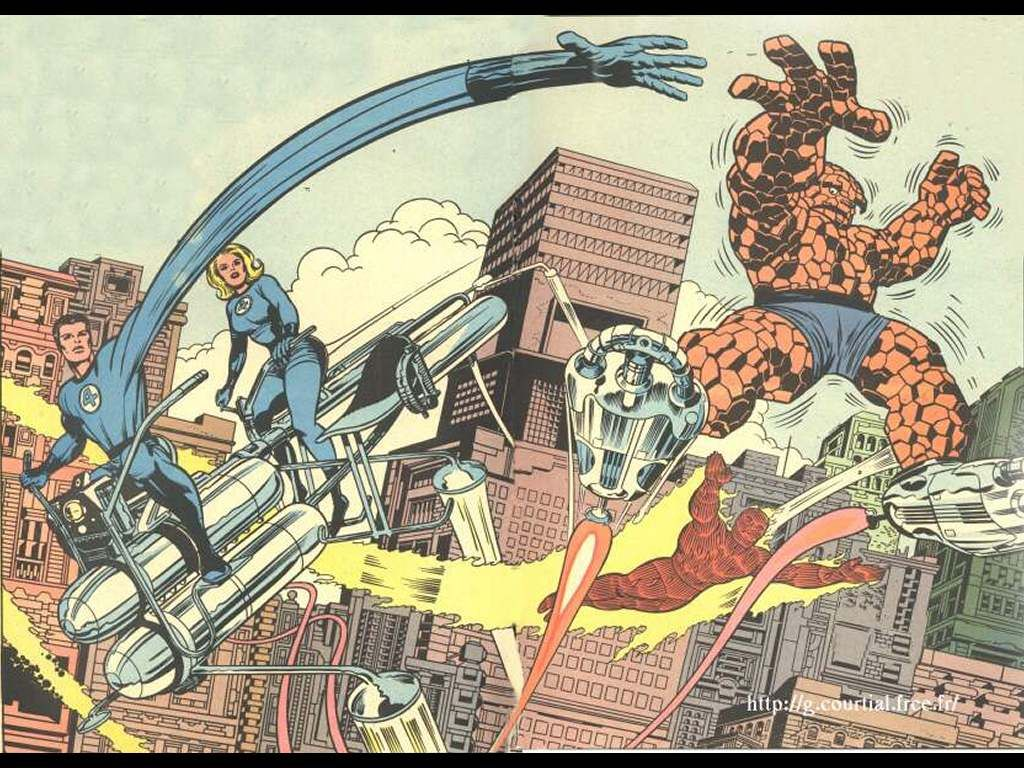Comics Wallpaper Jack Kirby Fantastic Four Jack Kirby Art Jack Kirby Kirby Art