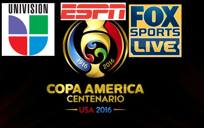 Copa America 2016 Live Telecast in India on Sony Six Sony