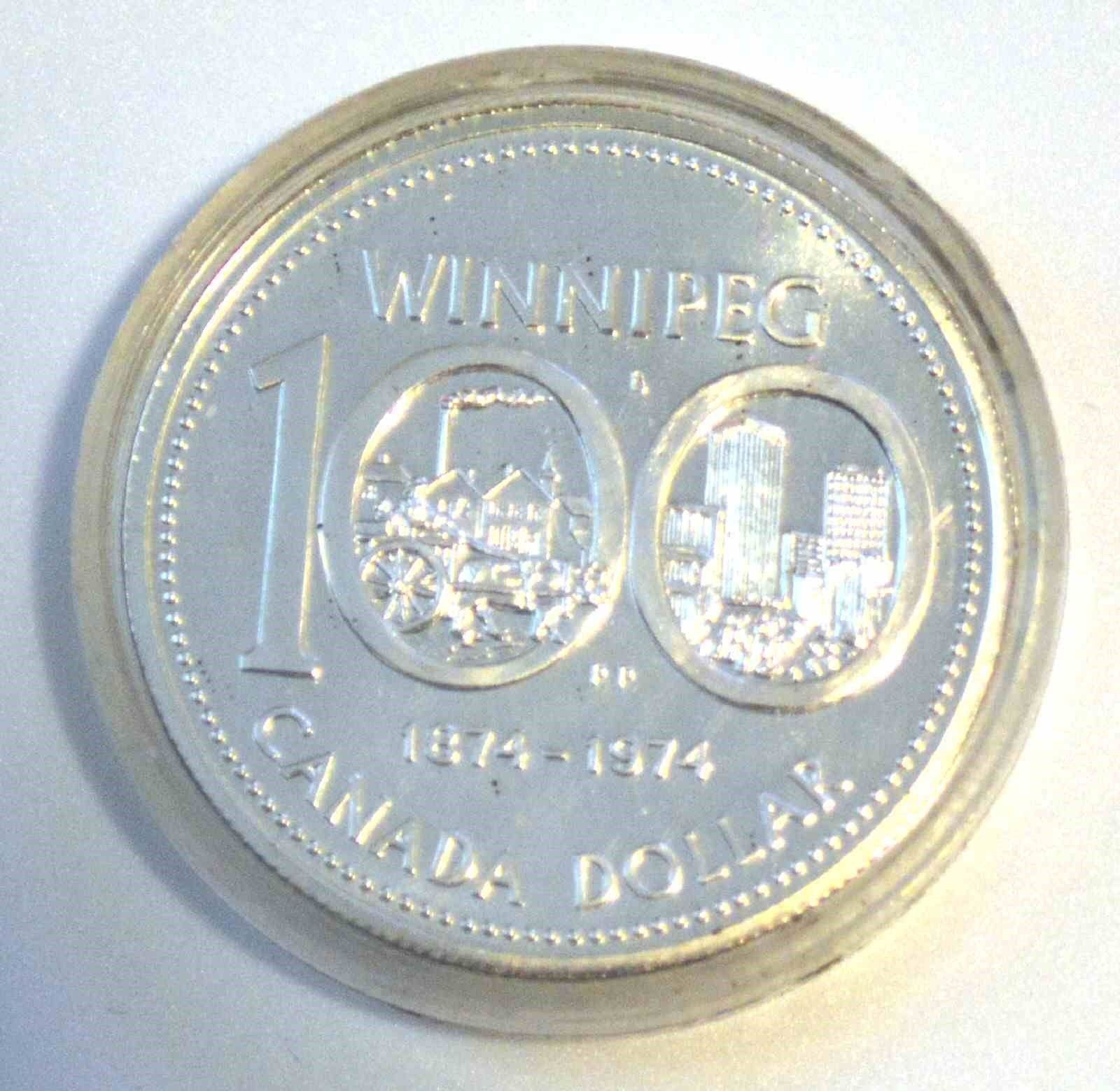1987 Canadian 1 Dollar Silver Coin Winnipeg 100 Shopnetone Silver Coins Coins Silver