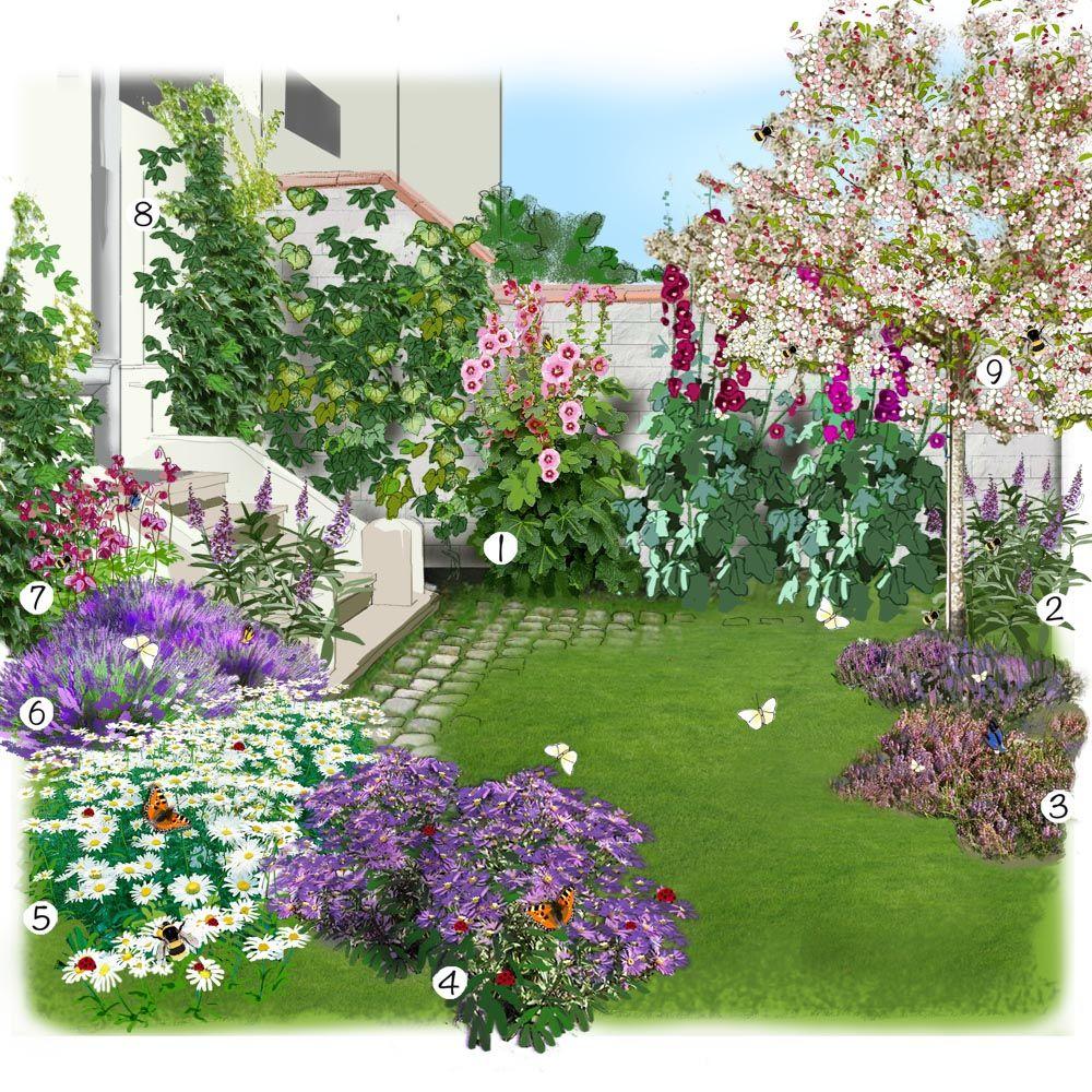 Aménagement D Un Parterre De Fleurs projet aménagement jardin : animaux pollinisateurs et