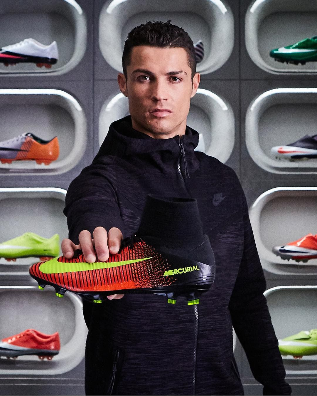 In CR7's house, speed gets its own room Download the Nike Football App now  for
