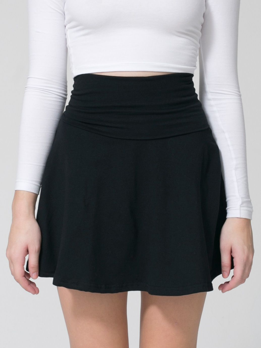 How to jersey a wear knit skirt rare photo