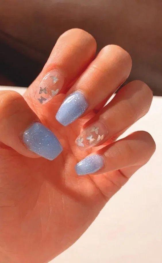Short Acrylic Nails Acrylicnailsshort Short Acrylic Nails Short Square Acrylic Nails Summer Acrylic Nails