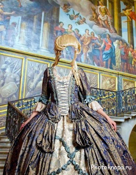 Старинные платья для фотошоп