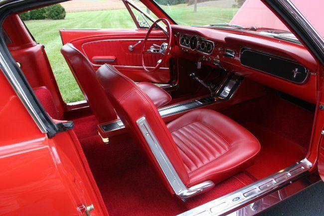 Pin En 1965 Mustang Fastback