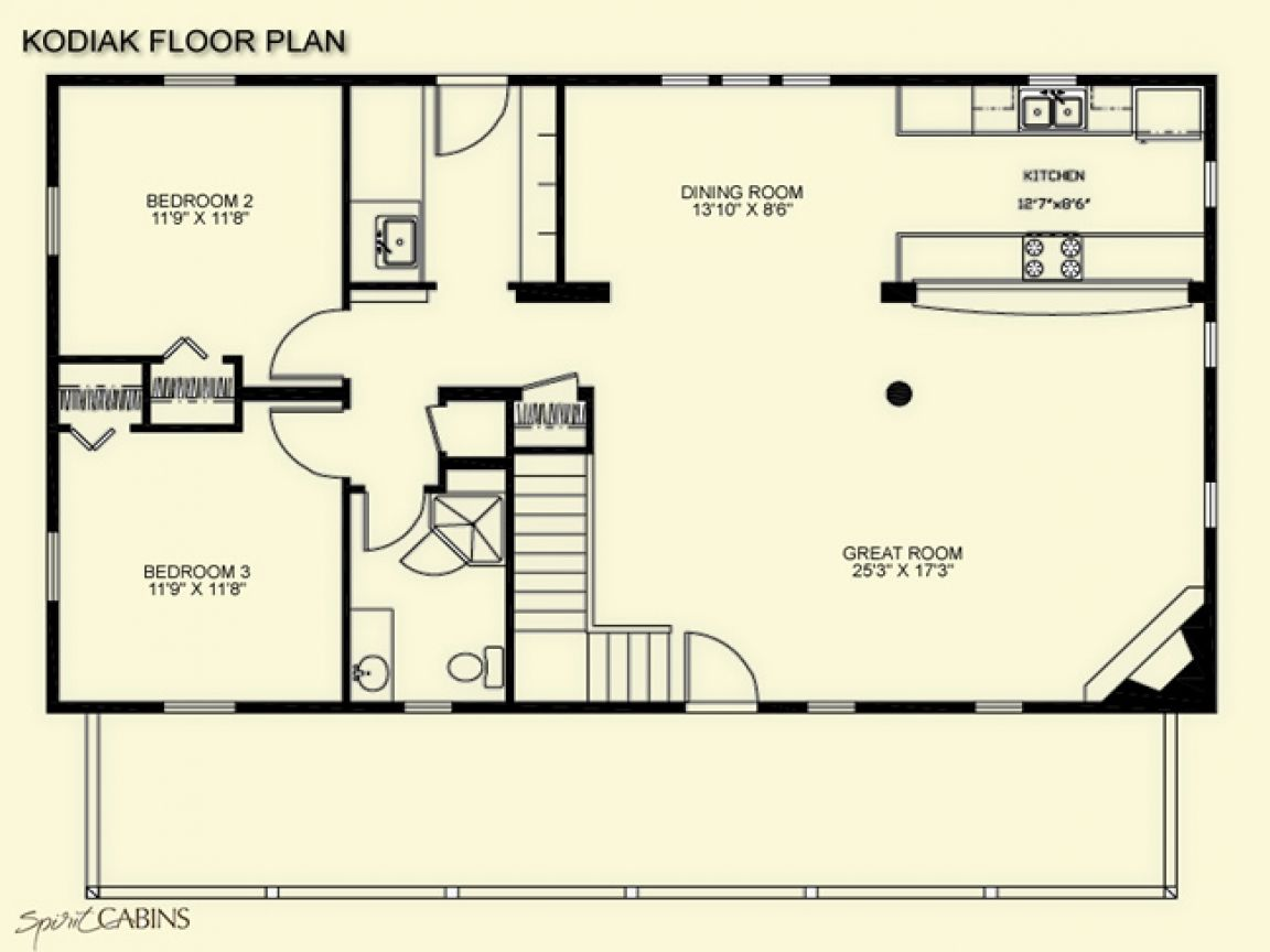 10 Fabulous Cabin Plans To Suit You Loft Floor Plans Floor Plans Cabin Floor Plans