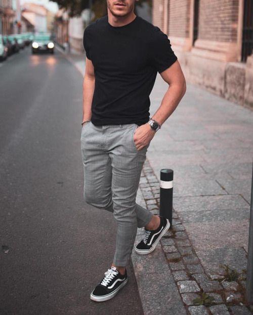 Resultado de imagem para peças cinza moda masculina