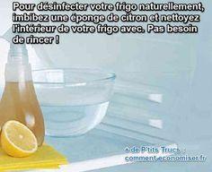 Nettoyer son frigo régulièrement c'est important. Découvrez l'astuce ici : http://www.comment-economiser.fr/le-desinfectant-pour-frigo-que-tout-monde-devrait-connaitre.html?utm_content=bufferab62d&utm_medium=social&utm_source=pinterest.com&utm_campaign=buffer