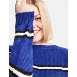 Photo of Samoon Pullover in Streifenoptik Blue Stripes Frauen Gerry Weber