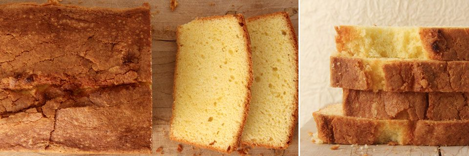 how to make a better pound cake - by ruth reichl