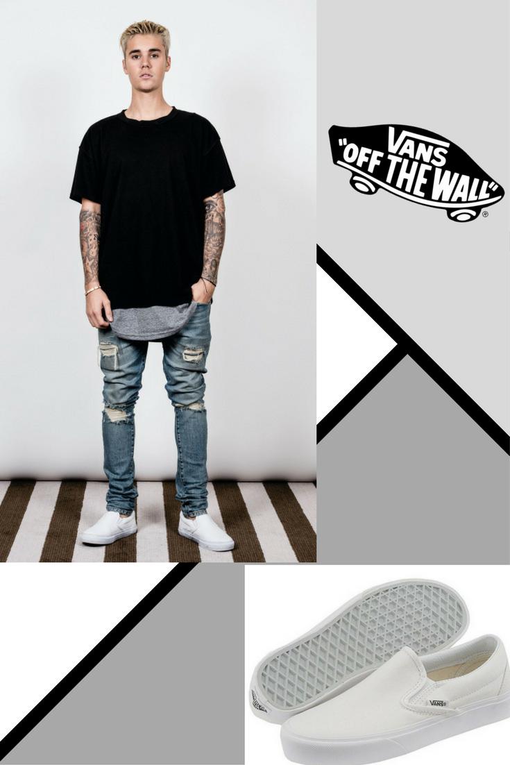 bieber sneakers justin Justinbieber vans jb style kicks Uqnd8