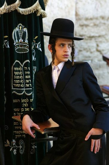 Young man at the Western Wall. Jerusalem, Israel  © Joan Costa