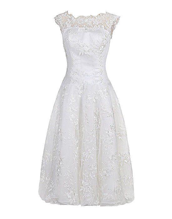 Find Dress hochzeitskleider standesamtkleid weiß a-linie kleid ...