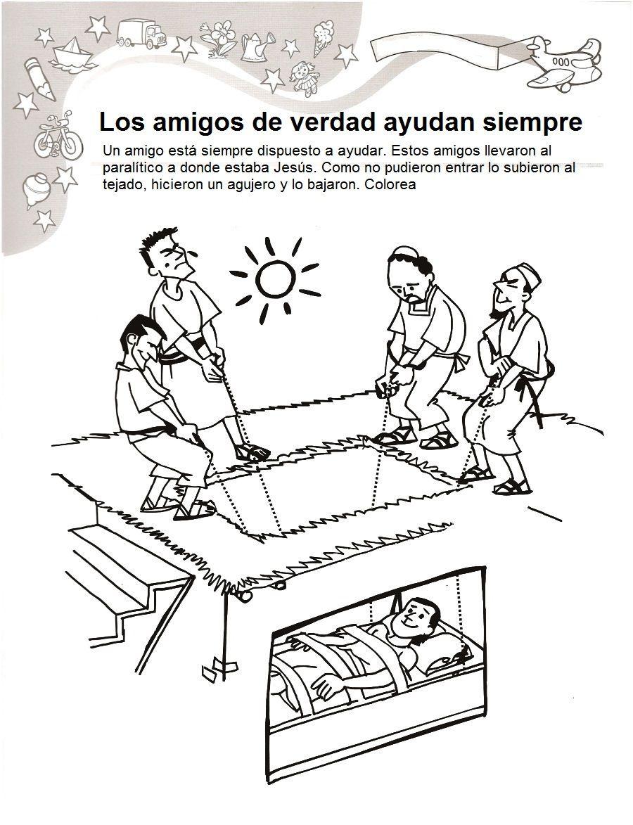 Jesús sana a un paralítico Lección para maestros Pincha en la imagen ...