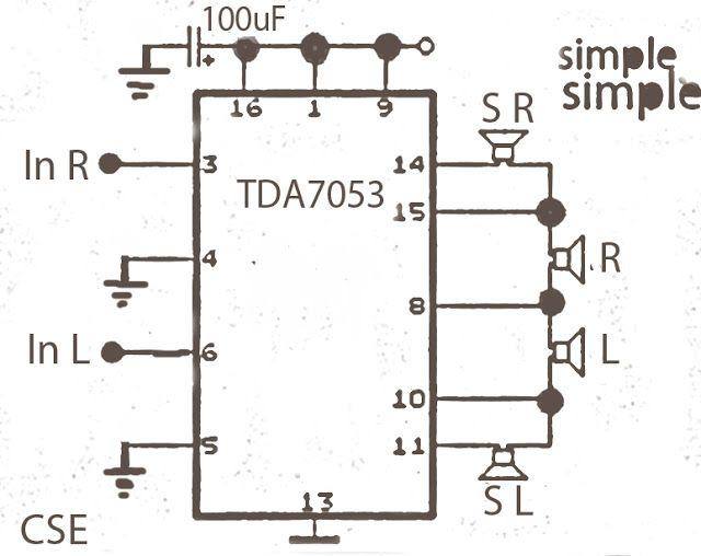 Pin en Amplificador