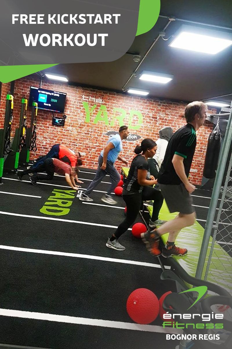 Get Your Fitness Back On Track With A Kickstart Workout From