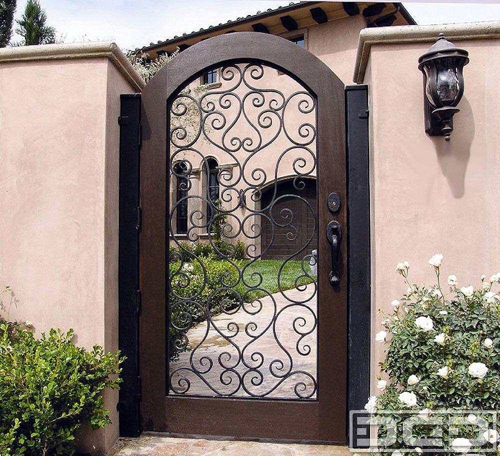 Dynamic garage door designer pedestrian gate architectural gates also railing  in exterior home design pinterest wrought rh