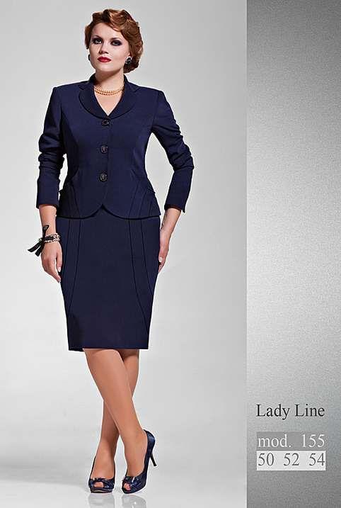 7e83e2fdd52 Костюмы для полных девушек и женщин белорусской компании Lady Line ...