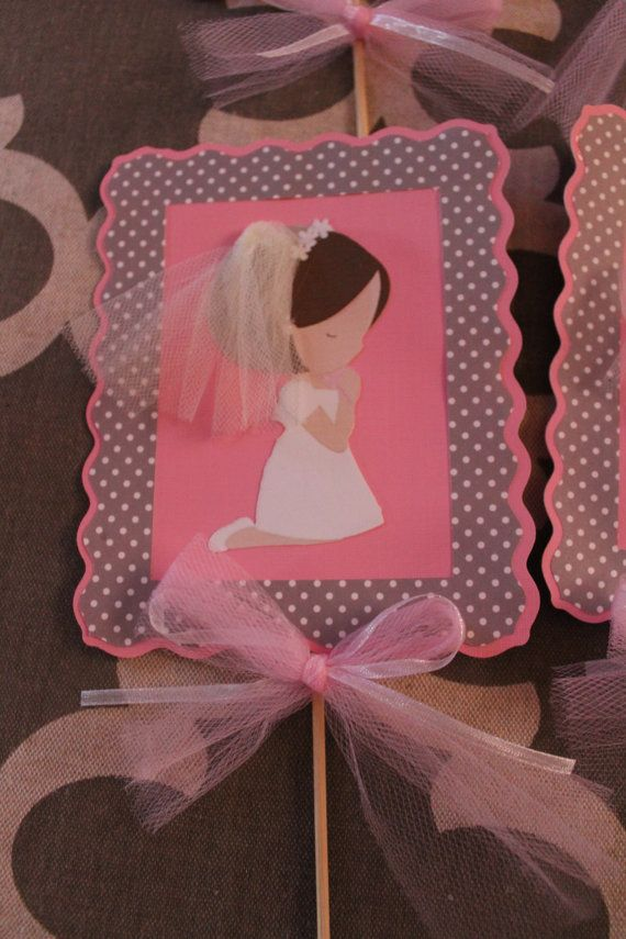 Centerpiece-First Communion di FarmerBarbie su Etsy