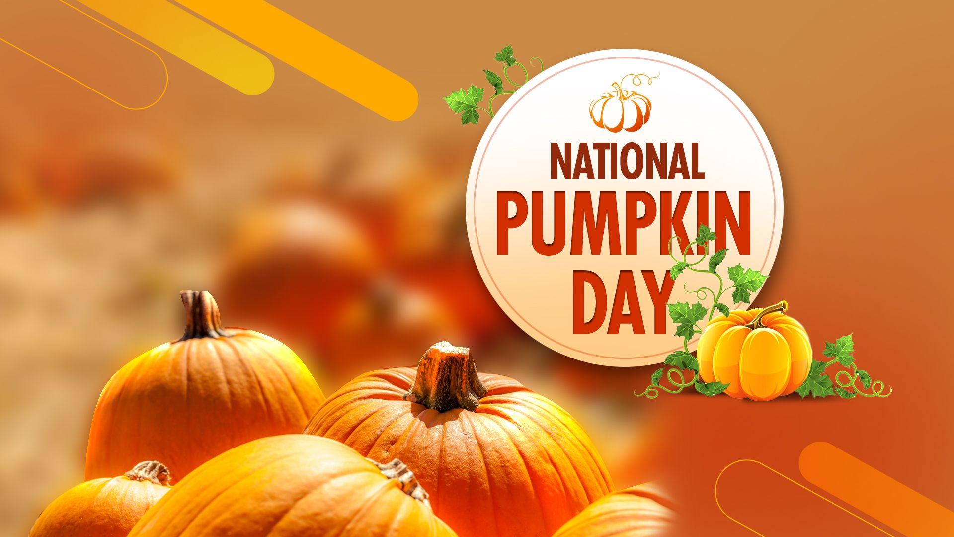 Go Carve A Pumpkin Eat Pumpkin Drink A Pumpkin Spice Latte Because It Is National Pumpkin Day Happy Pumpkin Day Pumpkin Happy Pumpkin Pumpkin Spice Latte