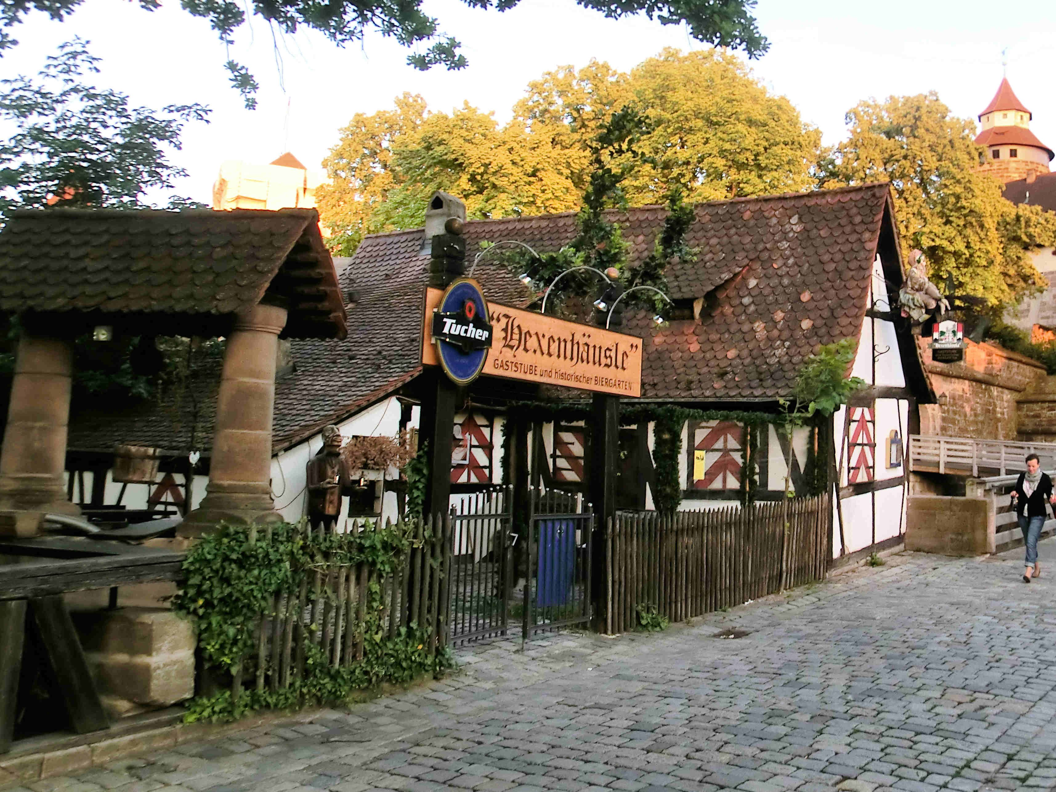 Kaminbauer Nürnberg the historic hexenhäusle witches house garden and