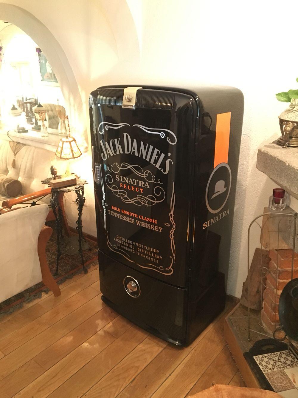 En venta refrigerador Jack Daniels Sinatra totalmente restaurado ...