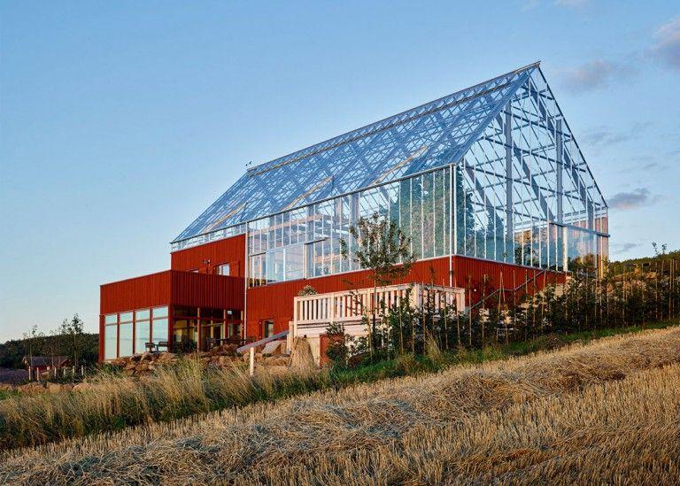 Cette maison autosuffisante produit plus du0027aliments que de déchets - exemple de facade de maison