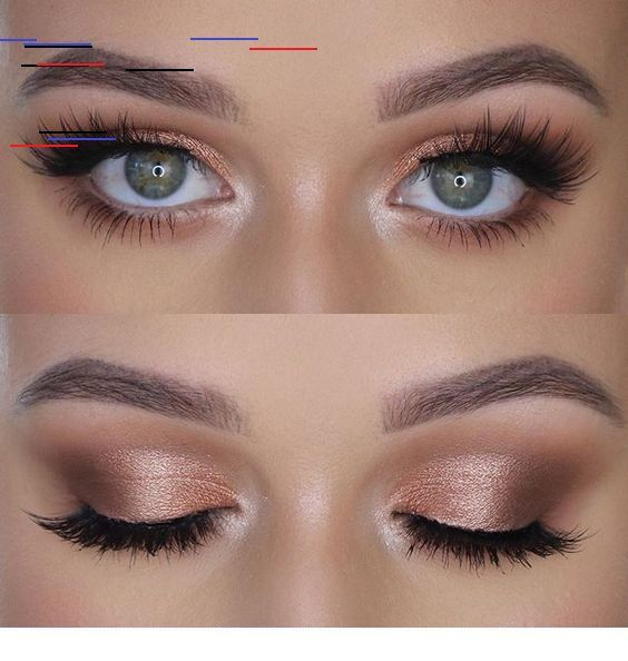 "Photo of 41 Top Rose Gold Makeup Ideas That Look Like a Goddess ""},"" pinner "": {"" expli …"